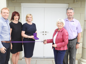 The first residnet of Carleton Manor Park, Penrith apartments moves in
